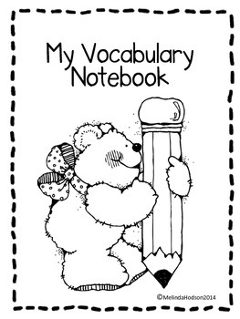 My Vocabulary Notebook/My Dictionary
