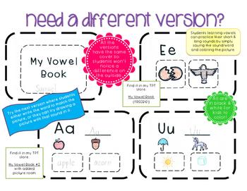 My Vowel Book 2 {Simplified Teaching}