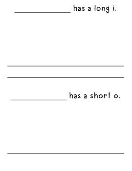 My Vowel Book (AEIOU)-long and short
