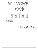 My Vowel Book (AEIOU)-long and short