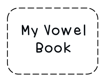 My Vowel Book {Simplified Teaching}