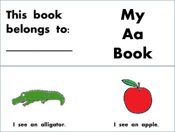 My Vowel Emergent Reader Book
