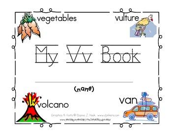 My Vv Book {letter study / reader}