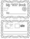"My ""WH"" Digraph Book (sentences)"