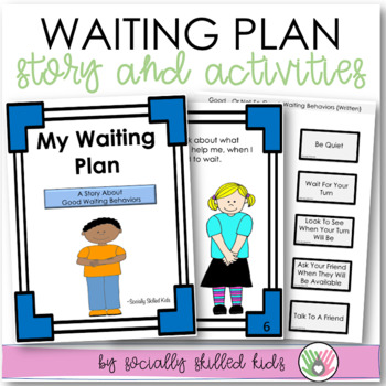 SOCIAL SKILLS: My Waiting Plan~ Waiting Strategies And Soc