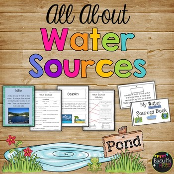 All About WATER SOURCES - Book, Game, Posters & Worksheets Rivers ...