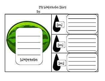 My Watermelon Story (Main Idea and Detail Writing)