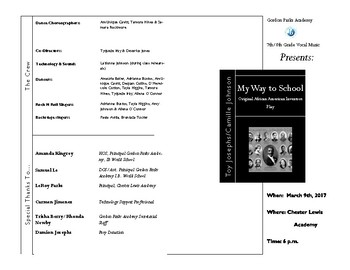 My Way to School Program