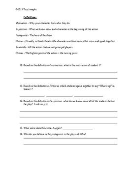 My Way to School Worksheet