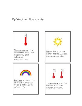 My Weather Activity Book