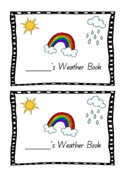 My Weather Book - QLD Beginners Font
