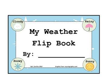 My Weather Flip Book