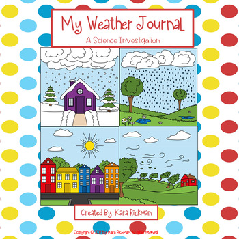 My Weather Journal: A Science Investigation