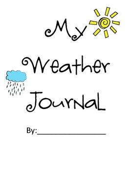 My Weather Journal k-1