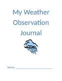 My Weather Observation Journal