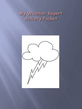 My Weather Report Activity Packet