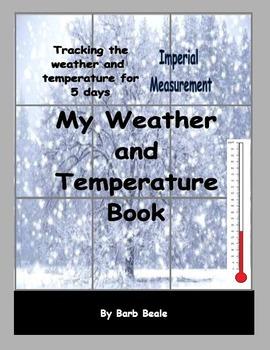 Temperature - My Weather and Temperature Book - IMPERIAL M