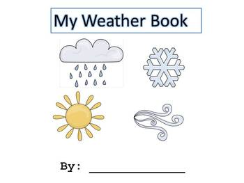 My Weather/Temperature Book