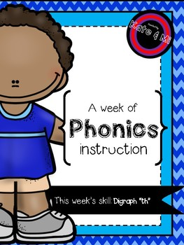 "My Week of Phonics: Digraph ""Th"""