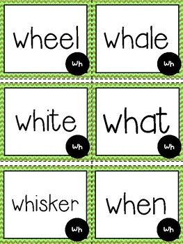 "My Week of Phonics: Digraph ""Wh"""