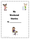 My Weekend Stories Writing Journal