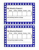 My Weekly Reward- Stars
