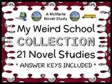 My Weird School COLLECTION (Gutman) 21 Novel Studies / Comprehension (547 pgs)