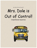 My Weird School Daze #1: Mrs. Dole is out of Control comprehension questions