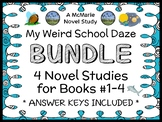My Weird School Daze BUNDLE (Dan Gutman) 4 Novel Studies : Books #1 - 4