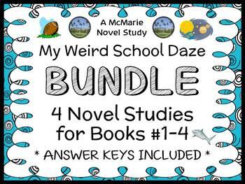 My Weird School Daze BUNDLE (Dan Gutman) 4 Novel Studies :