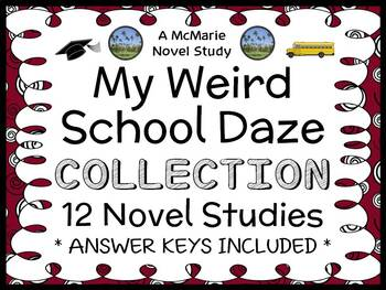 My Weird School Daze COLLECTION (Dan Gutman) 12 Novel Studies / Comprehension