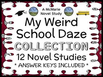 My Weird School Daze COLLECTION (Dan Gutman) 12 Novel Stud