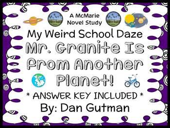 My Weird School Daze: Mr. Granite Is from Another Planet! (Gutman) Novel Study