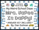 My Weird School Daze: Mrs. Jafee Is Daffy! (Gutman) Novel Study / Comprehension