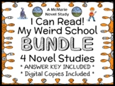 My Weird School (I Can Read!) BUNDLE (Dan Gutman) 4 Novel Studies (69 pages)
