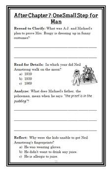 My Weird School: Mrs. Roopy Is Loopy! (Dan Gutman) Novel Study / Comprehension