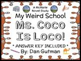 My Weird School: Ms. Coco Is Loco! (Dan Gutman) Novel Study / Comprehension
