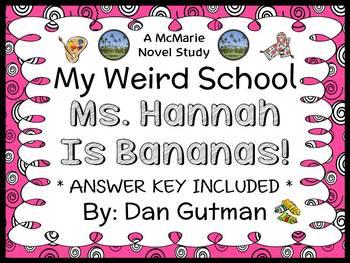 My Weird School: Ms. Hannah Is Bananas! (Dan Gutman) Novel