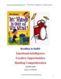 My Weird School My Hynde Book Study 1st-4th Grade Comprehension Vocab Art