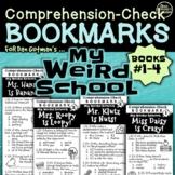 MY WEIRD SCHOOL SERIES (Books #1-4) Comprehension-Check Bookmarks