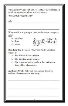My Weird School: Talent Show Mix-Up (Dan Gutman) Novel Study  (18 pages)