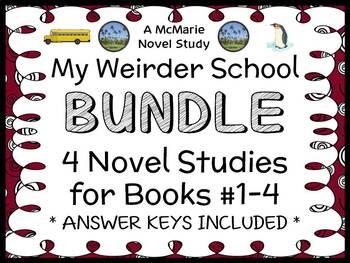 My Weirder School BUNDLE (Dan Gutman) 4 Novel Studies : Books 1 - 4