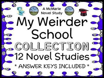 My Weirder School COLLECTION (Dan Gutman) ALL 12 Novel Stu