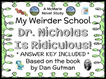 My Weirder School: Dr. Nicholas Is Ridiculous! (Dan Gutman) Novel Study