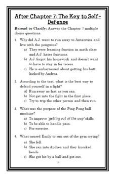 My Weirder School: Mr. Jack Is a Maniac! (Gutman) Novel Study / Comprehension