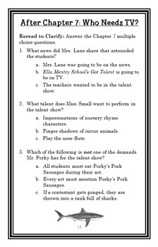 My Weirder School: Mrs. Lane Is a Pain! (Dan Gutman) Novel Study / Comprehension