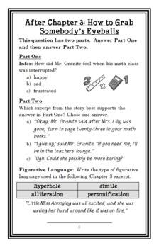 My Weirder School: Mrs. Lilly Is Silly! (Dan Gutman) Novel Study / Comprehension