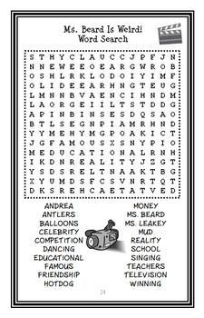 My Weirder School: Ms. Beard Is Weird! (Dan Gutman) Novel Study / Comprehension