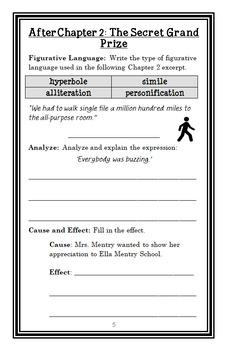 My Weirdest School #2: Ms. Cuddy Is Nutty! (Gutman) Novel Study / Comprehension