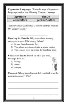 My Weirdest School #8 : Mrs. Master Is a Disaster! (Gutman) Novel Study (23 pgs)